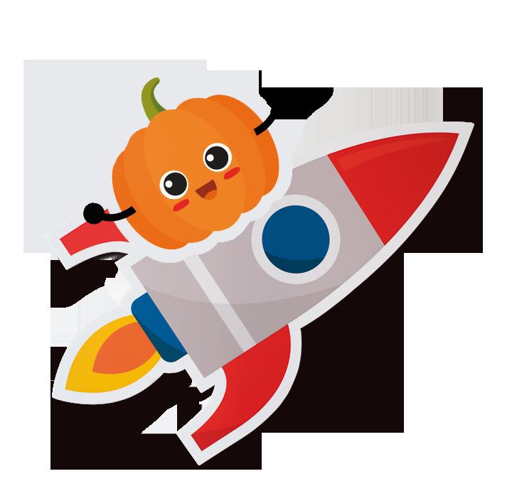 zucca nello spazio